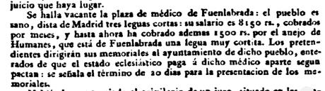 Plaza médico Fuenlabrada (1822)