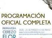 Programación Primavera Cerezo Flor 2020. Valle Jerte