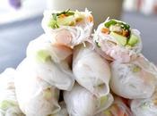 Rollitos verano vietnamitas (gỏi cuốn)