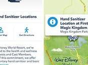 Localiza espacios para desinfectar manos parques Disney