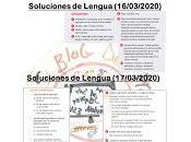 Soluciones Lengua (Primera Semana)