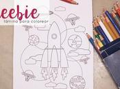 Frebbie: Láminas para colorear