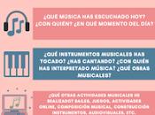 "ACTIVIDAD MÚSICA: diario musical"""