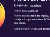 Firefox estable ahora barra direcciones mejorada registro cambios
