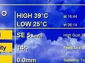 Temperaturas máximas Almadén