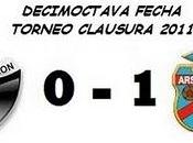 Colón: Arsenal: (Fecha 18°)
