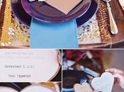 Minutas boda forma corazón