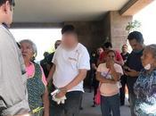 Denuncian Policías Municipales golpear menor durante manifestación