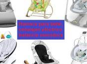 usar mejor Hamaca para bebé, Columpio eléctrico Balancín mecedora