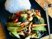 Verduras salsa teriyaki