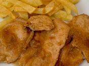 Filetes pollo salsa coca- cola cebolla