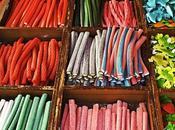 Sobre todo regalices colores apetitosos
