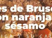 Coles Bruselas Naranja Sésamo