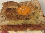 Sandwich Mixto Huevo BIkini HUevo
