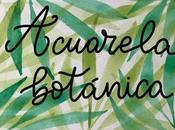 Acuarela botánica: pintar hojas palmera.
