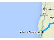 Cruzando meseta patagónica