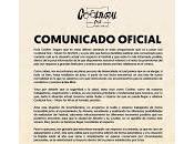 Cooltural Fest, Comunicado oficial