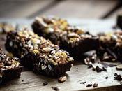 Barritas cereales chocolate negro