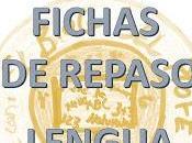 Fichas Repaso Lengua (Tema