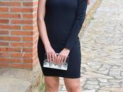 Vestido negro sola manga Femme Luxe