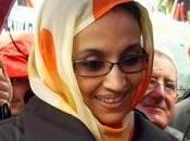 Aminetu Haidar. mujer Sahara