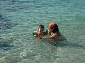 ¡Papá, papá...estoy nadando!