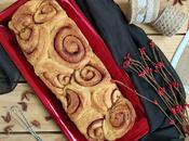 canela. Cinnamon swirl bread.