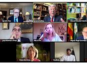 vuelta normalidad sanitaria: dieciocho ponentes participantes dieron cita para hablar