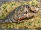 Dorada sidra patatas