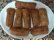 Rollitos chinos caseros curry