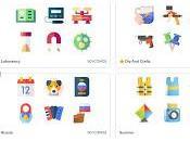 Descarga ,modifica crea Iconos para trabajos