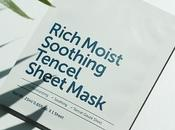 "mascarilla ultra-hidratante ""Rich Moist Tencel Soothing Mask"" KLAIRS (From Asia with Love)"