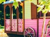 manera diferente vivir vacaciones: carromato cíngaro
