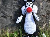 Silvestre gatito ganchillo