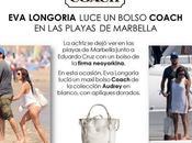 Longoria Eduardo Cruz Marbella, luciendo glamuroso bolso COACH. Divinos (Eva, bolso)