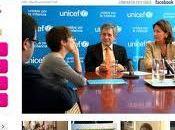 UNICEF lanza portal televisión internet