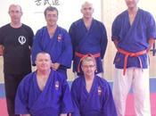 nuevos cintos naranjas goshin jutsu club shotokan motril