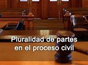 Pluralidad partes proceso civil