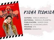 Reseña: BESOS PROHIBIDOS Noelia Amarillo
