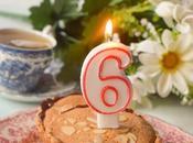 Tarta Bakewell Vegana. aniversario.