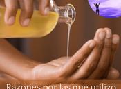 Razones elijo aceite sésamo para masaje chakras