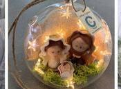 Esferas navideñas transparentes para árbol navideño