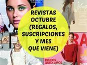 Revistas Octubre 2020 (Regalos, Suscripciones viene)