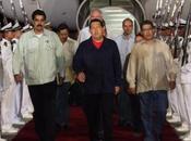 Procedente Cuba Presidente Hugo Chávez arribó Venezuela
