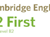 Preparar Upper intermediate Cambridge First cuenta (2020)
