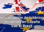 Regularización británicos residentes España tras Brexit