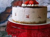 Cheesecake fresa platano