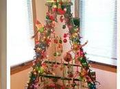 Convierte escalera árbol navideño hermoso