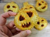 Empanadillas calabaza, receta fácil para Halloween