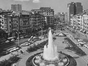 fuente luminosa Plaza Ayuntamiento Generalísimo)